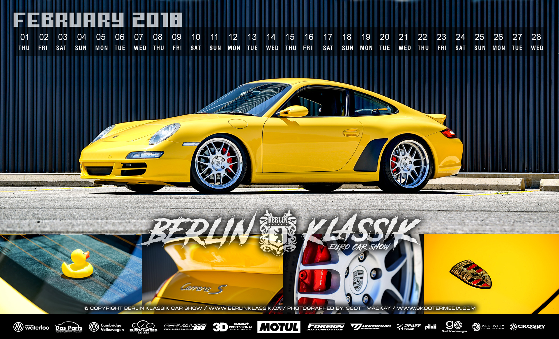 BERLIN Klassik BERLIN KLASSIK Calendar Photoshoot Download - Car show calendar